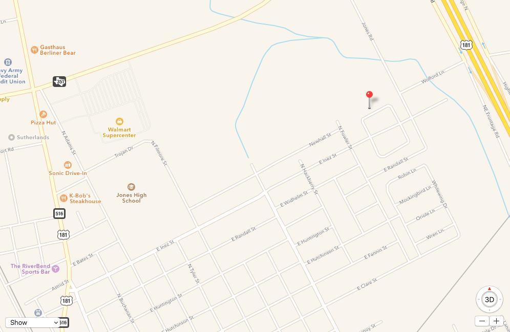 1405 Las Palmas Cir Beeville, TX 78102