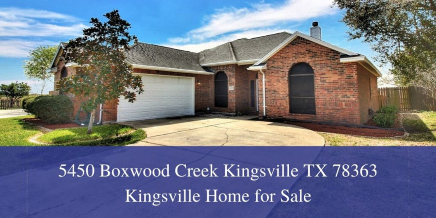 Homes for Sale in Kingsville TX